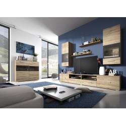 Obývací stěna Sarah 09 + komoda