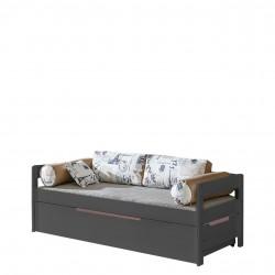 Dětská postel Borys BO1 + BO3