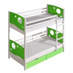 Patrová postel Mewil