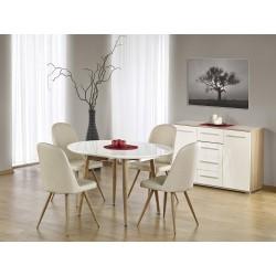 Sestava stůl Edward + 4 židle K214