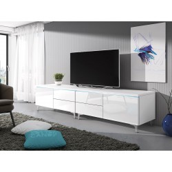 TV stolek Cleo XI W Double L+P