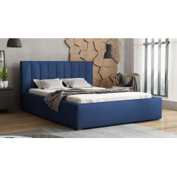 Čalouněná postel s rolovatelným roštem Ideal