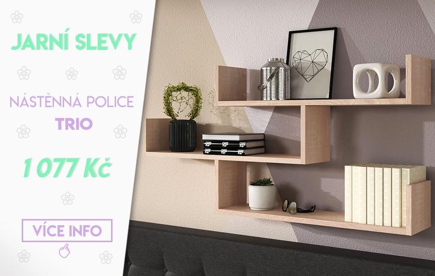 Nástěnná police Trio